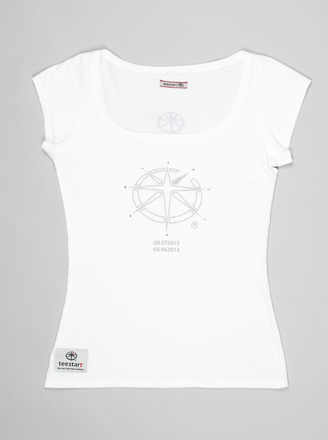 T-shirt Lady teeChallenger 1.B