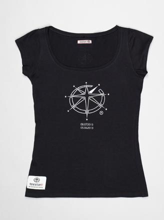 T-shirt Lady teeChallenger 2.N