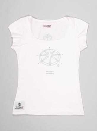 T-shirt Lady teeChallenger 1.RP