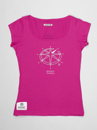 T-shirt Lady teeChallenger 2.F