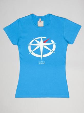 Camiseta B Blue Aqua de mujer
