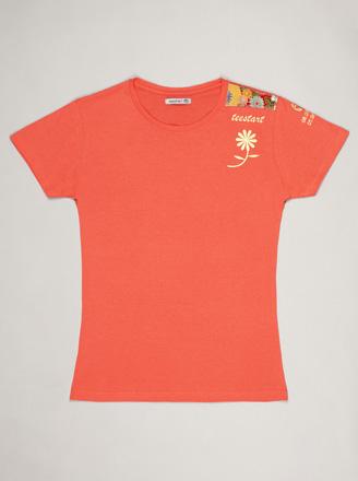 camiseta tee flower