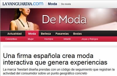 teestart noticia en LA VANGUARDIA